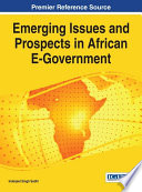 Emerging Issues And Prospects In African E Government