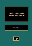 Pollution Prevention Technology Handbook Book PDF