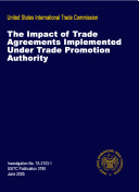 The Impact of Trade Agreements Implemented Under Trade Promotion Authority  Inv  TA 2103 1