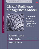 CERT Resilience Management Model  CERT RMM