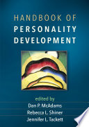 Handbook of Personality Development Book