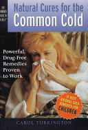 Natural Cures for the Common Cold
