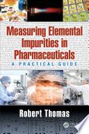 Measuring Elemental Impurities in Pharmaceuticals