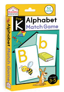 ALPHABET MATCH GAME FLASHCARDS