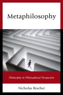 Metaphilosophy Pdf/ePub eBook
