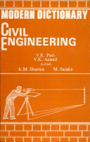 Modern Dictionary Civil Engineering