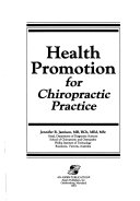 Health Promotion for Chiropractic Practice Book