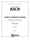First Lessons in Bach Pdf/ePub eBook