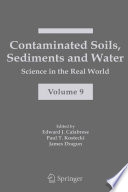 Contaminated Soils Sediments And Water  Book PDF