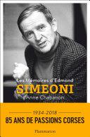 Pdf Les Mémoires d'Edmond Simeoni Telecharger