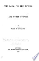 The Lady  Or the Tiger  Book PDF