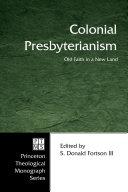 Colonial Presbyterianism