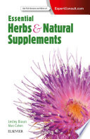 """Essential Herbs and Natural Supplements"" by Lesley Braun, Marc Cohen"