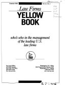 Law Firms Yellow Book: Who's who in the Management of the