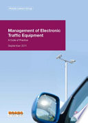 Management of electronic traffic equipment Book