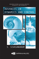 Pdf Advances in Dynamics and Control Telecharger