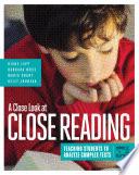 A Close Look at Close Reading