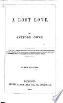 A Lost Love