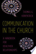 Communication in the Church Book