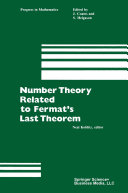 Number Theory Related to Fermat's Last Theorem Pdf