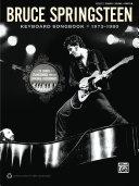 Bruce Springsteen - Keyboard Songbook 1973-1980 Pdf