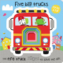 Board Book Five Big Trucks Book