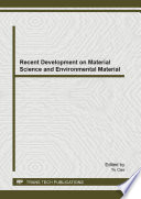 Recent Development on Material Science and Environmental Material