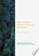 Rape Culture  Gender Violence  and Religion