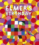 Pdf Elmer's Birthday Telecharger