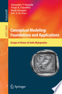 Conceptual Modeling  Foundations and Applications Book