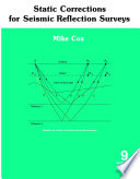 Static Corrections for Seismic Reflection Surveys