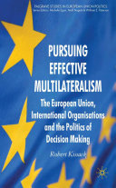 Pursuing Effective Multilateralism: The European Union, ... - Seite ii