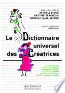 Le Dictionnaire universel des créatrices