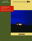 The Masquerader  Volume 1 of 2    EasyRead Super Large 20pt Edition