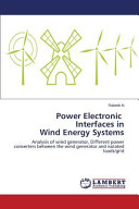 Power Electronic Interfaces in Wind Energy Systems