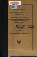 Hungarians in Rumania and Transylvania