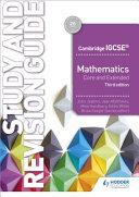 Books - Cam/Ie Maths Study & Rev Guide 4th Ed | ISBN 9781510421714