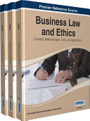 Business Law and Ethics  Concepts  Methodologies  Tools  and Applications