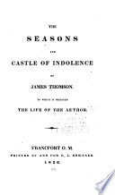 The Seasons and Castle of Indolence