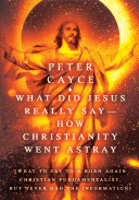 Pdf What Did Jesus Really Say-How Christianity Went Astray Telecharger