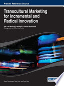 Transcultural Marketing For Incremental And Radical Innovation Book PDF