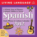 2012 Calendars Living Language Spanish PDF