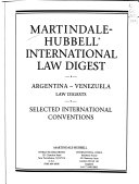 Martindale-Hubbell International Law Digest - Google Books