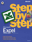 Microsoft Excel 2002 Step by Step