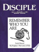 Disciple Iii Remember Who You Are Study Manual Book