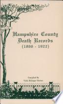Hampshire County Death Records 1866 1922