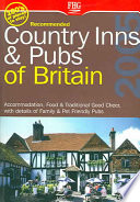 Recommended Country Inns   Pubs of Britain 2005