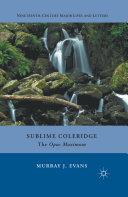 Sublime Coleridge [Pdf/ePub] eBook