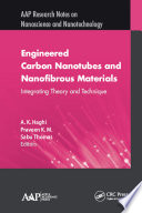 Engineered Carbon Nanotubes and Nanofibrous Material Book