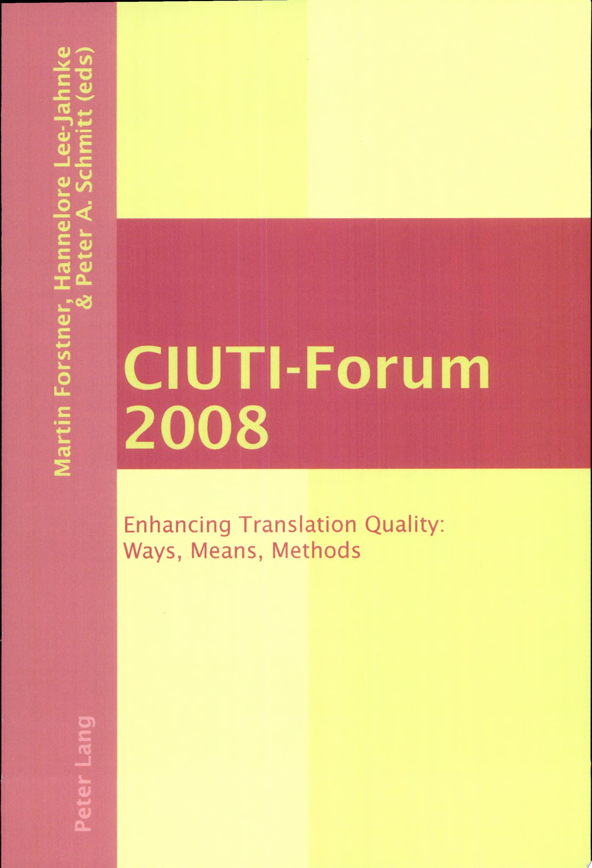 CIUTI Forum 2008